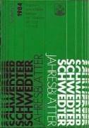 Schwedter Jahresblätter 1984 Sonderheft