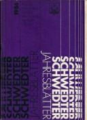 Schwedter Jahresblätter 1986
