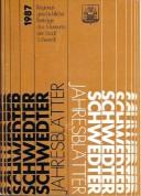 Schwedter Jahresblätter 1987
