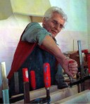 Walter Matznick bei der Arbeit