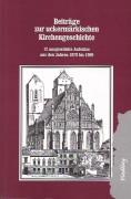 """Beiträge zur uckermärkischen Kirchengeschichte"""". 12 ausgewählte Aufsätze aus den Jahren 1979 bis 1989. (2003)"""