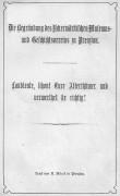 Einzelheft 1899