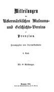 Mitteilungen UMGV, Band 2