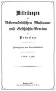 Mitteilungen UMGV Band 2 Heft 2