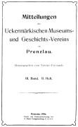 Mitteilungen UMGV Band 3 Heft 2