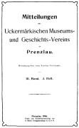 Mitteilungen UMGV Band 3 Heft 3
