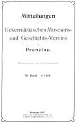 Mitteilungen UMGV Band 3 Heft 4