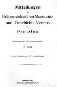 Mitteilungen UMGV, Band 4