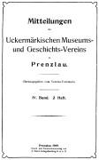 Mitteilungen UMGV Band 4 Heft 2