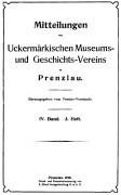 Mitteilungen UMGV Band 4 Heft 3