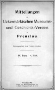 Mitteilungen UMGV Band 4 Heft 4
