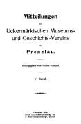 Mitteilungen UMGV, Band 5