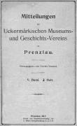 Mitteilungen UMGV Band 5 Heft 2