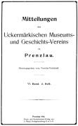 Mitteilungen UMGV Band 6 Heft 2