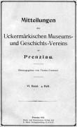 Mitteilungen UMGV Band 6 Heft 4