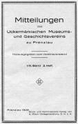 Mitteilungen UMGV Band 8 Heft 2
