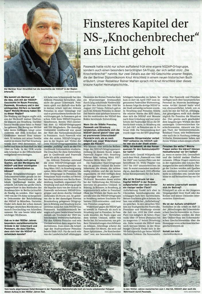 Prenzlauer Zeitung vom 05.03.2016