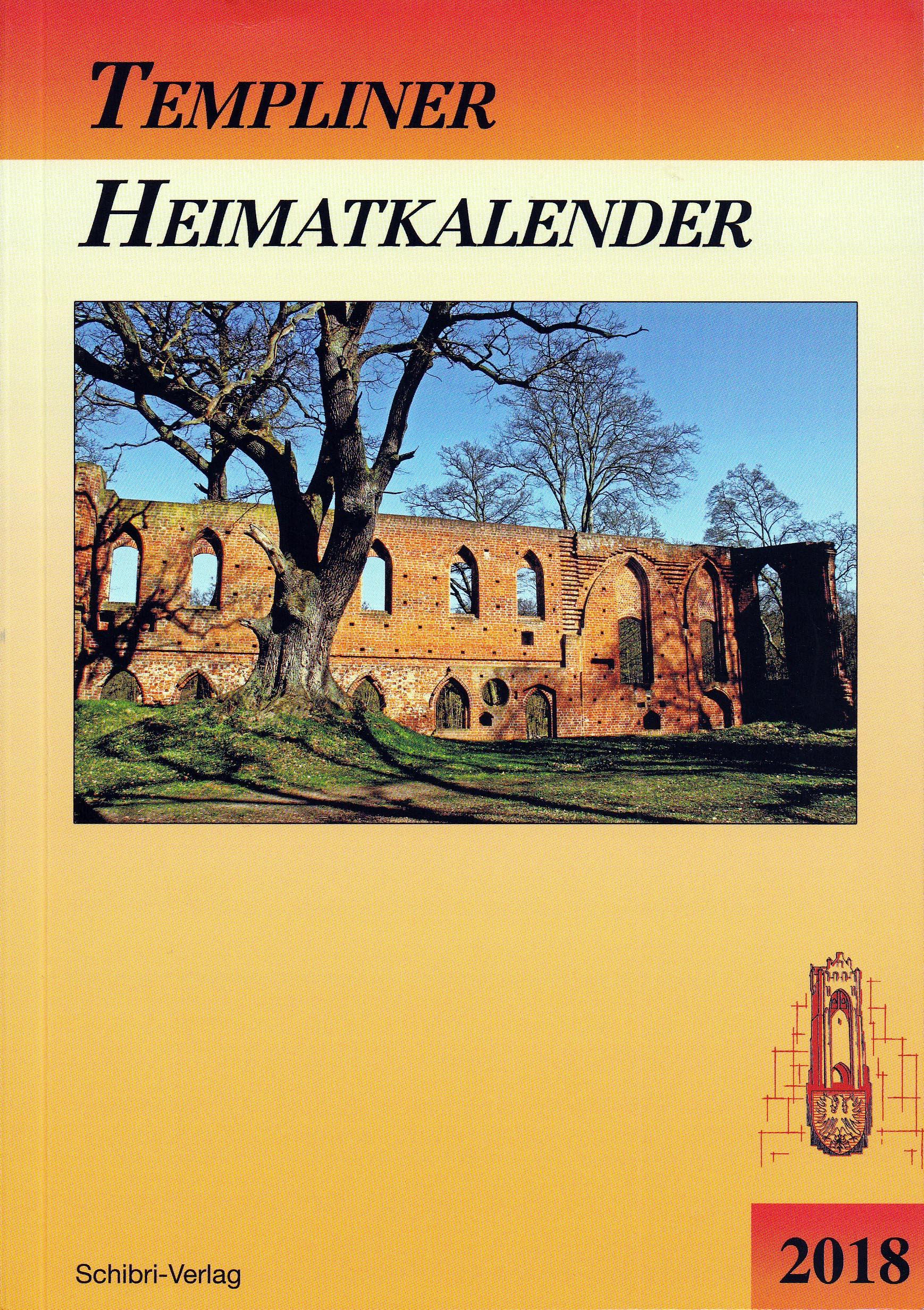 Templiner Heimatkalender 2018. (2017)