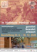 Plakat_Ausstellungseröffnung_In_Trümmern_Prenzlau_1945